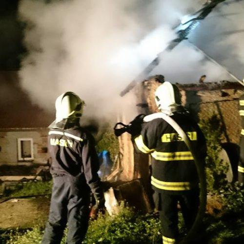 Požár budovy 1.5. 2016 - 4