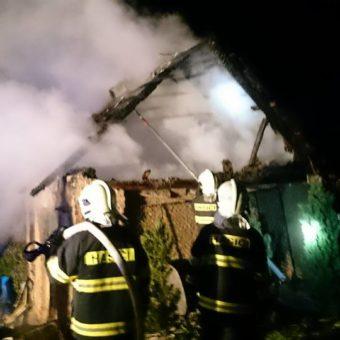 Požár budovy 1.5.2016