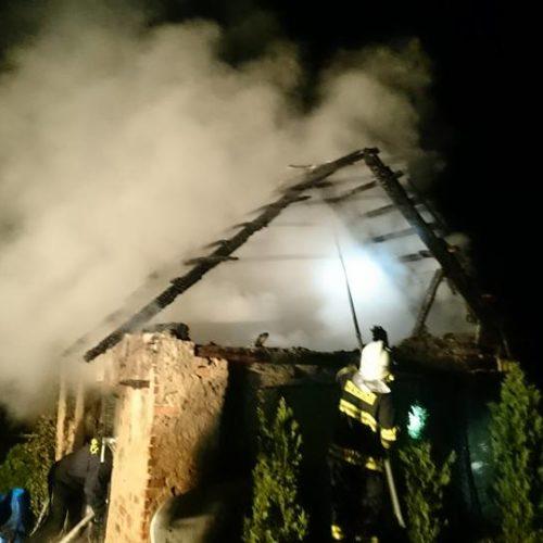 Požár budovy 1.5. 2016 - 2